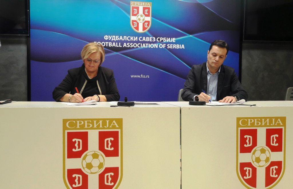 Fakultet za sport potpisao saradnju sa Fudbalskim savezom Srbije
